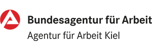 Logografik Bundesagentur für Arbeit Kiel